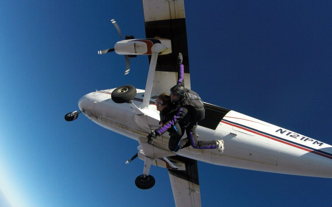 Skydiving: Don't Let Life Pass You By